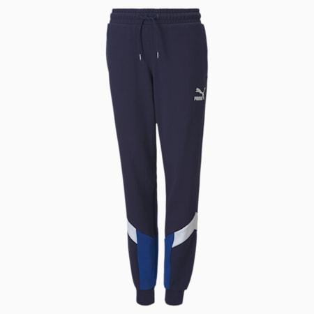 Pantaloni da tuta Iconic MCS da ragazzo, Peacoat, small