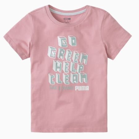 T4C Kids' Crew Neck T-Shirt, Bridal Rose, small-IND