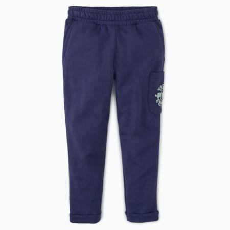 T4C Kids' Sweatpants, Peacoat, small-SEA