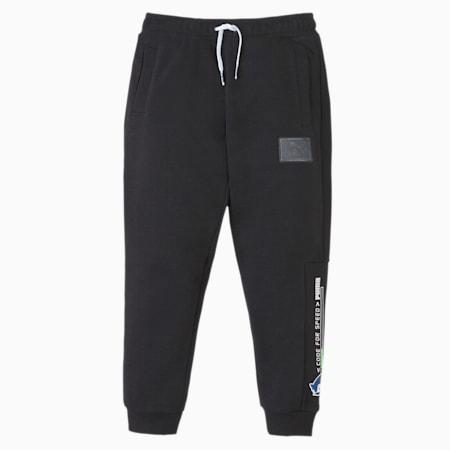 PUMA x SEGA Kids' Sweatpants, Puma Black, small-SEA