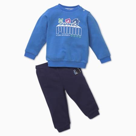 PUMA x SEGA Infant + Toddler Jogger Set, Palace Blue, small