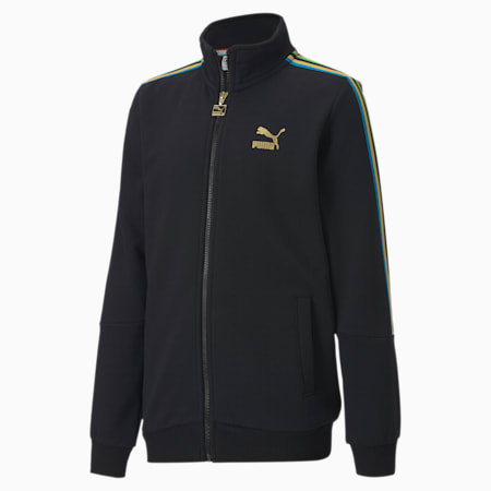 The Unity Collection TFS Youth Track Top, Puma Black, small-SEA
