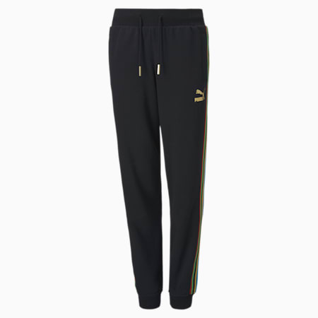 The Unity Collection TFS Kid's Track Pants, Puma Black, small-IND