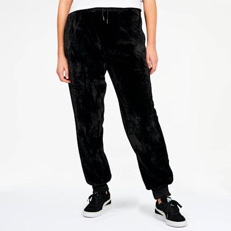 Winter Classics Women's Fleece Pants, Puma Black, small