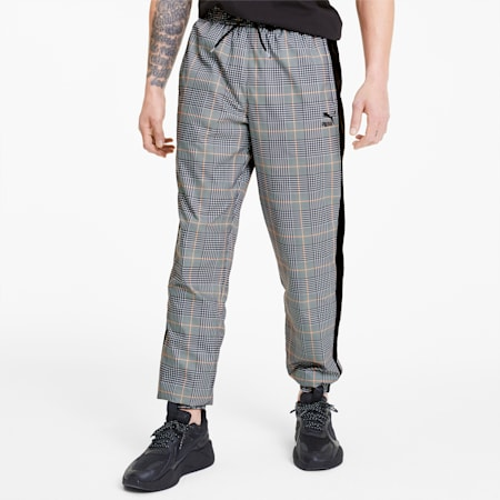 Recheck Pack Woven Men's Sweatpants, Puma Black-AOP, small