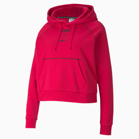 Recheck Pack Women's Hoodie, BRIGHT ROSE, small-SEA