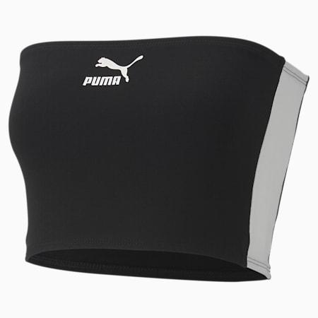 Women's Bandeau Top, Puma Black, small-SEA