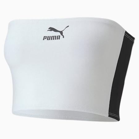 Women's Bandeau Top, Puma White, small-SEA