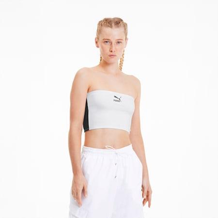 Top a fascia da donna, Puma White, small