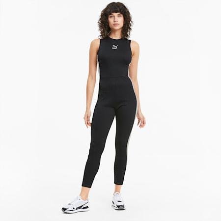 T7 클래식 민소매 타이트 점프수트/Classics Jumpsuit, Puma Black, small-KOR