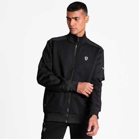 Scuderia Ferrari Style Men's Jacket, Puma Black, small-IND