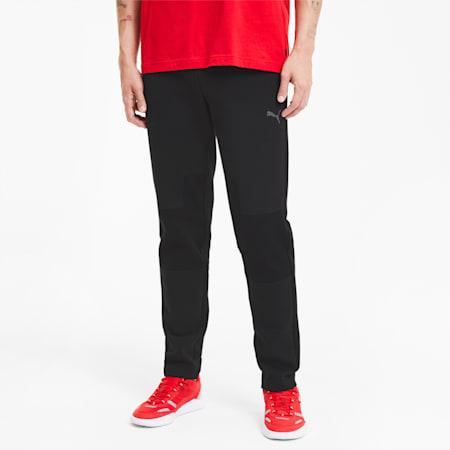 Scuderia Ferrari Style OC Men's Sweatpants, Puma Black, small-IND
