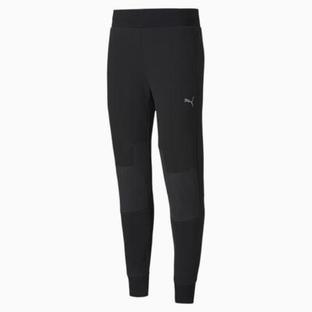 Scuderia Ferrari Style CC Men's Sweatpants, Puma Black, small-SEA