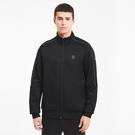 Track jacket da uomo Scuderia Ferrari Style T7, Puma Black, small