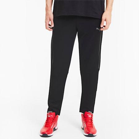 Scuderia Ferrari Style T7 Men's Track Pants, Puma Black, small-IND