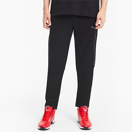 Scuderia Ferrari Style T7 Men's Track Pants, Puma Black, small-SEA