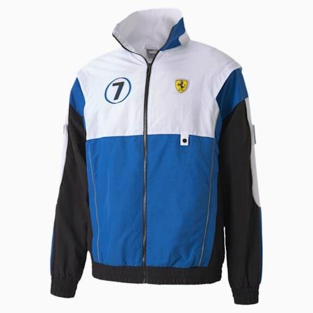 Scuderia Ferrari Race Street Men's Jacket, Puma Black, small