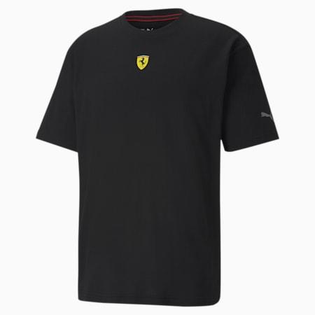 Scuderia Ferrari Race Street Men's T-Shirt, Puma Black, small-IND