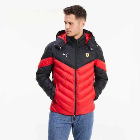 Scuderia Ferrari Race MCS EcoLite Men's Jacket, Rosso Corsa, small