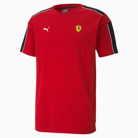 Scuderia Ferrari Race T7 Men's Tee, Rosso Corsa, small-SEA