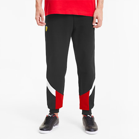 Scuderia Ferrari Race MCS Men's Sweatpants, Puma Black, small