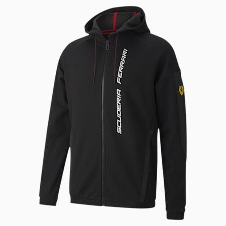 Chaqueta con capucha Scuderia Ferrari Race para hombre, Puma Black, pequeño