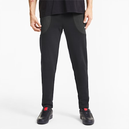 Scuderia Ferrari Race Men's Sweatpants, Puma Black, small-SEA