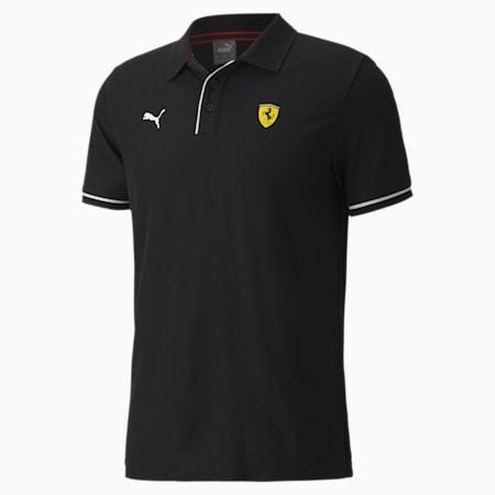 Scuderia Ferrari Race Men's Polo Shirt, Puma Black, small-SEA