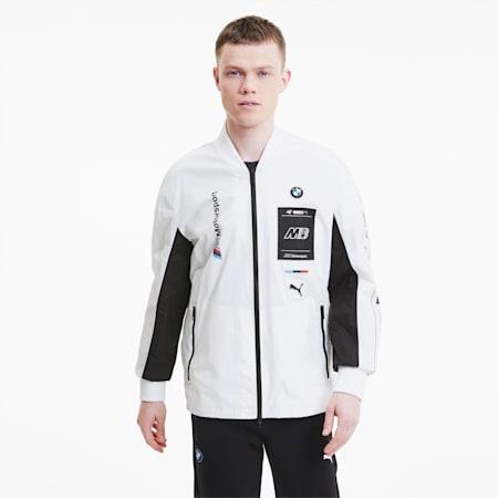 BMW M Motorsport  Street Men's Jacket, Puma White, small-IND