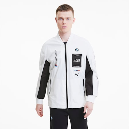 BMW M Motorsport Street Men's Jacket, Puma White, small