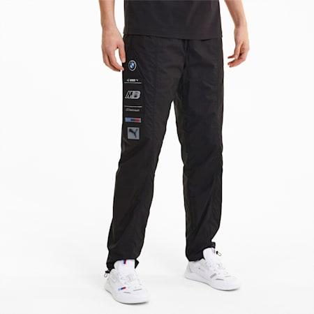 BMW M Motorsport Men's Street Pants, Puma Black, small-IND