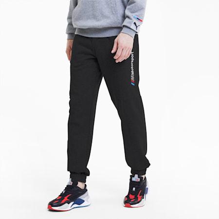 BMW M Motorsport Street Slim Fit Knitted Sweat Pants, Puma Black, small-IND