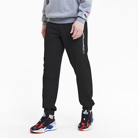 BMW M Motorsport Street Men's Sweatpants, Puma Black, small-SEA