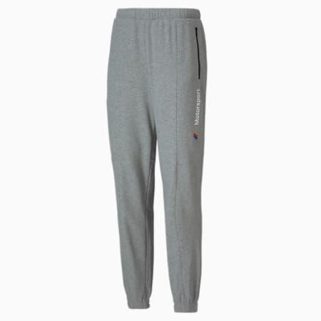 BMW M Motorsport Street Slim Fit Knitted Sweat Pants, Medium Gray Heather, small-IND