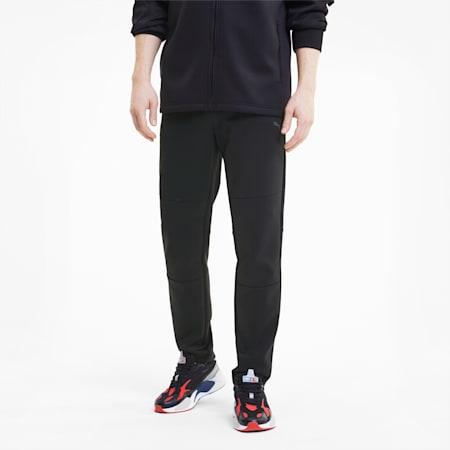 BMW Motorsport Life Reflective Logo Slim Fit Men's Sweat Pants, Puma Black, small-IND