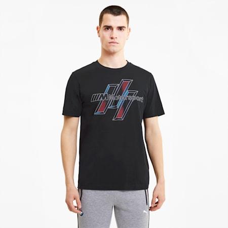 BMW Motorsport Life Graphic Regular Fit Men's T-Shirt, Puma Black, small-IND