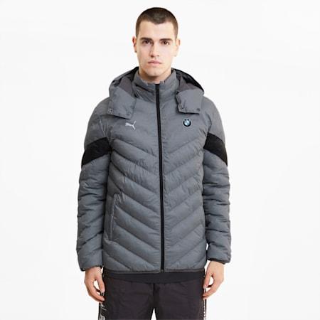 BMW Motorsport  EcoLite Men's Jacket, Medium Gray Heather, small-IND