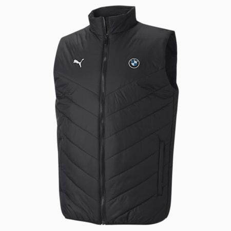 BMW Motorsport  Padded Men's Vest, Puma Black, small-IND