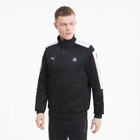 BMW M Motorsport Men's T7 Track Jacket, Puma Black, small