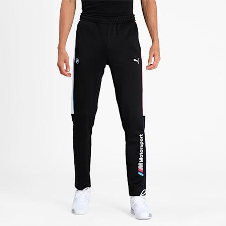 BMW M Motorsport T7 Men's Slim Track Pants, Puma Black, small-IND