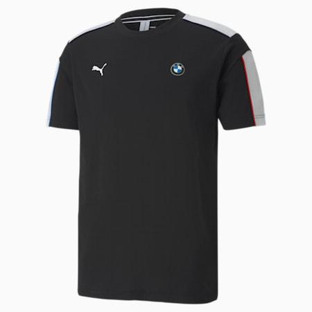 BMW M Motorsport T7 Men's T-Shirt, Puma Black, small-IND