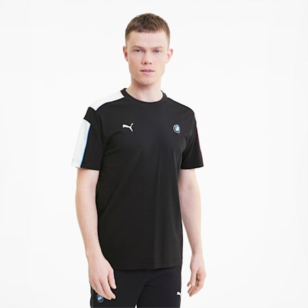 BMW M Motorsport T7 Men's Tee, Puma Black, small-SEA