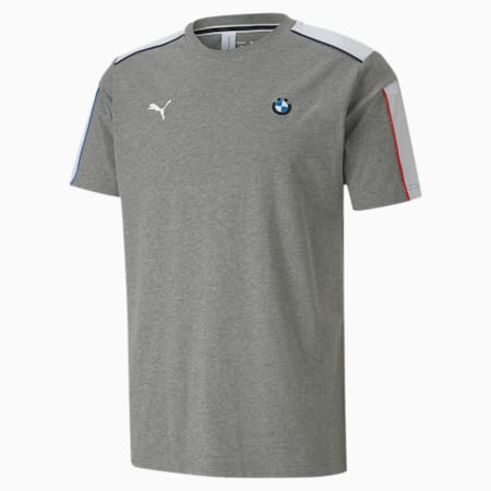 BMW M Motorsport T7 Men's T-Shirt, Medium Gray Heather, small-IND