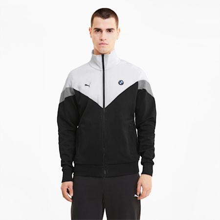 BMW M Motorsport MCS Men's Sweat Jacket, Puma Black, small