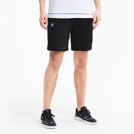 BMW M Motorsport Men's Sweat Shorts, Puma Black, small