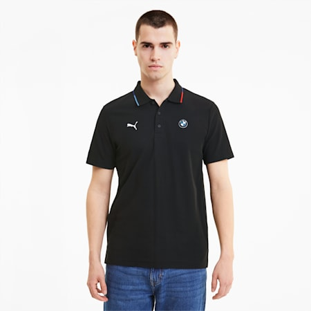 BMW M Motorsport Herren Poloshirt, Puma Black, small