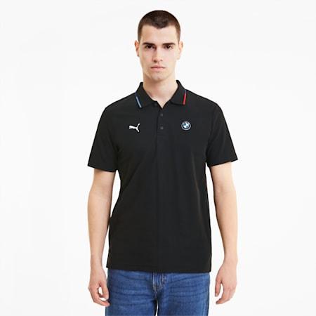 BMW M Motorsport Men's Polo Shirt, Puma Black, small-SEA