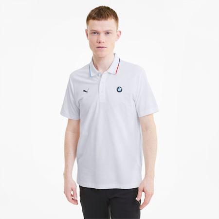 Męska koszulka polo BMW M Motorsport, Puma White, small