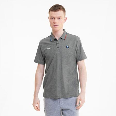 BMW M Motorsport Regular Fit Men's Polo Shirt, Medium Gray Heather, small-IND
