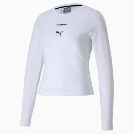 T-shirt urbain BMW M Motorsport, femme, Blanc Puma, petit
